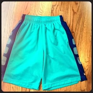 Nike elite teal boys shorts